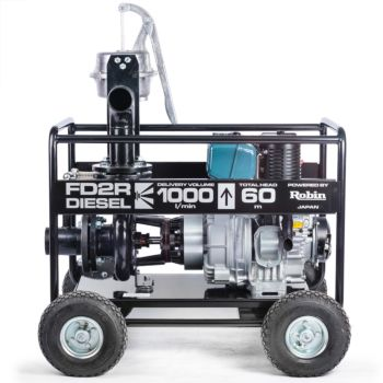 HIGH PRESSURE DIESEL WATER PUMP FD2R