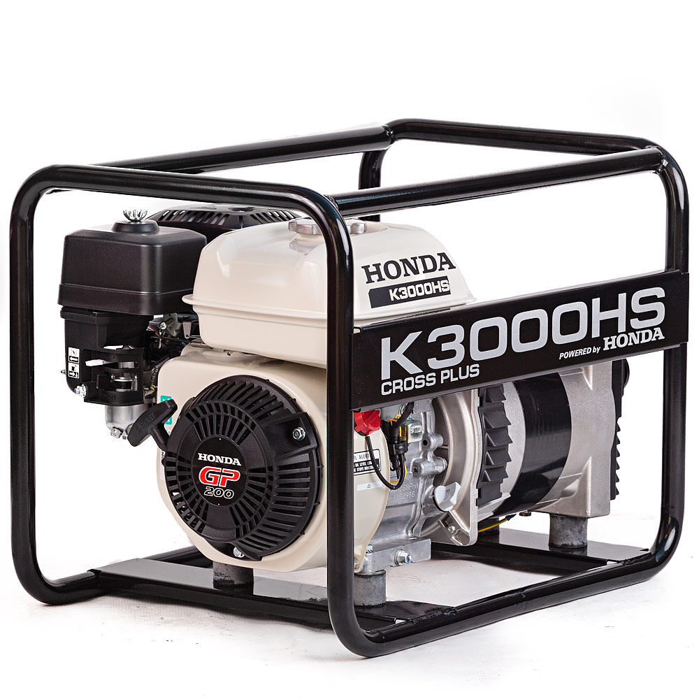 MONOPHASE GENERATOR K3000HS POWERED BY HONDA